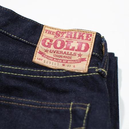 The Strike Gold Straight Jeans - Denim