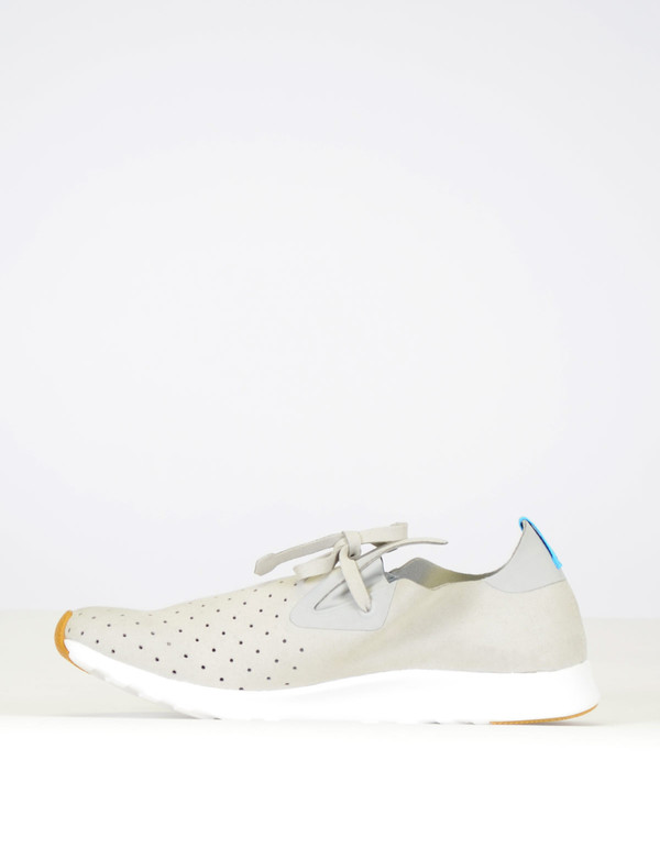 Native Shoes Native Apollo Moc Pigeon Grey Shell White