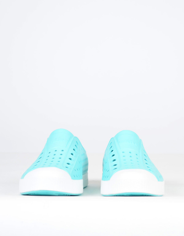 Native Shoes Native Jefferson Cabo Blue with Shell White