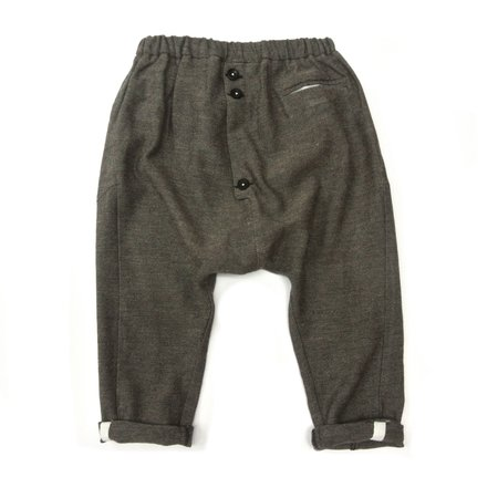 Kids Treehouse Piro Baggy Trousers - Mud Marble