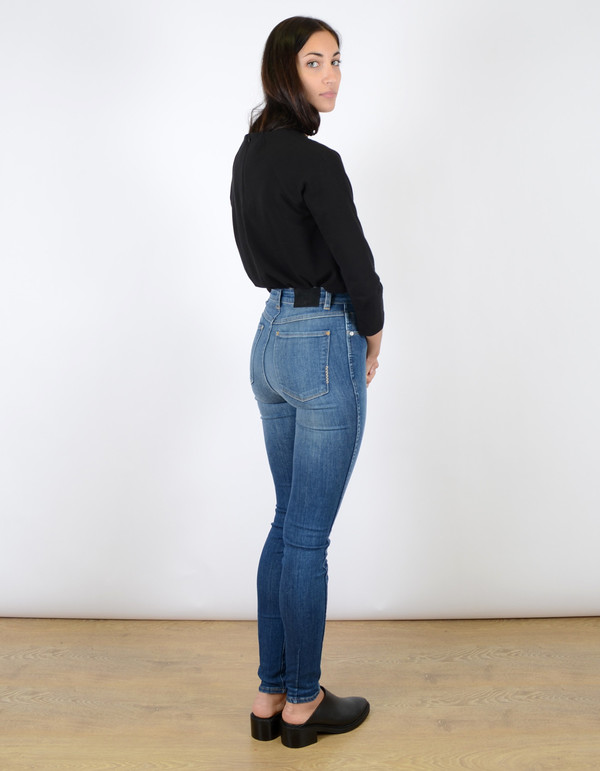 Neuw Marilyn High Rise Skinny Jean Buzz Blue
