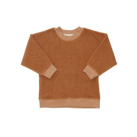 Kids Bacabuche Sherpa Pullover - Acorn