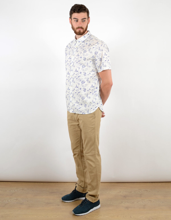 Men's Penfield Mitla Hula Shirt Blue