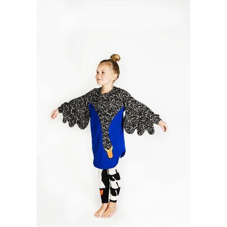KIDS wauw capow by bangbang copenhagen limited edition drama queen swan dress - Blue/black
