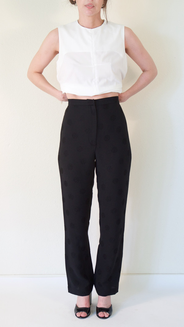 A Détacher Powwow Pants in Black