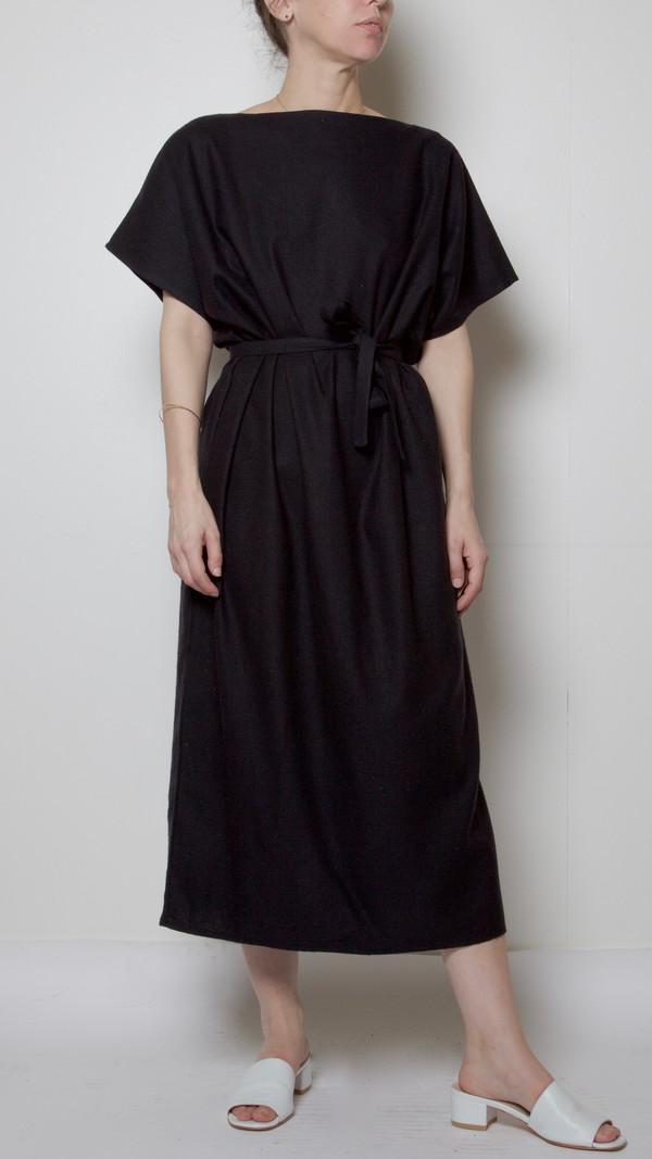 Baserange Sevinc Tee Dress in Black