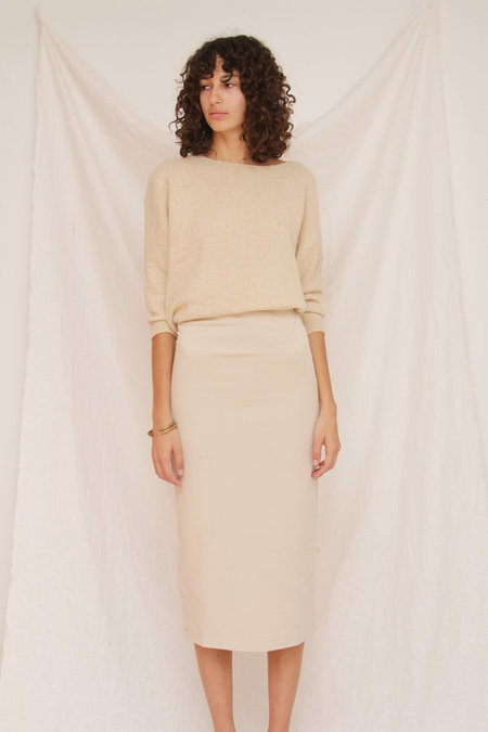 Rita Row Marfil Knit Skirt