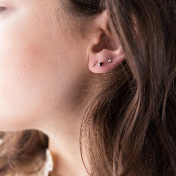 Blanca Monrós Gómez Bar Stud Earrings