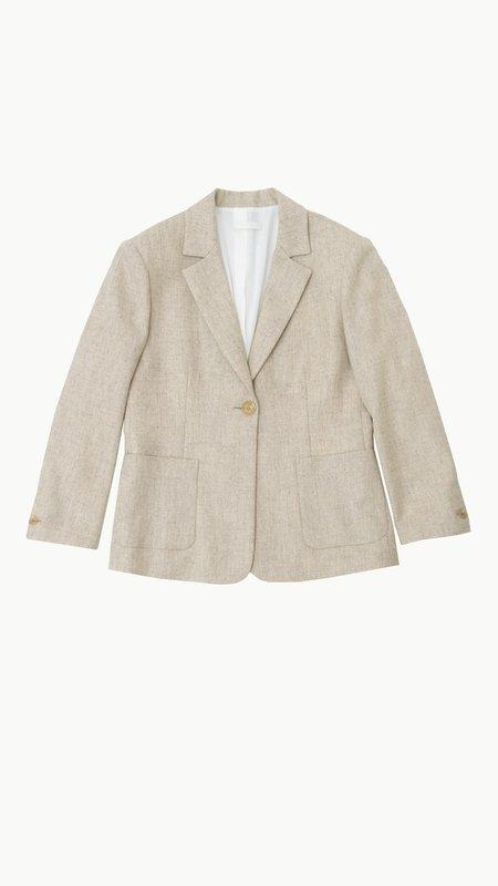 Amomento Classic Jacket - Melange Beige