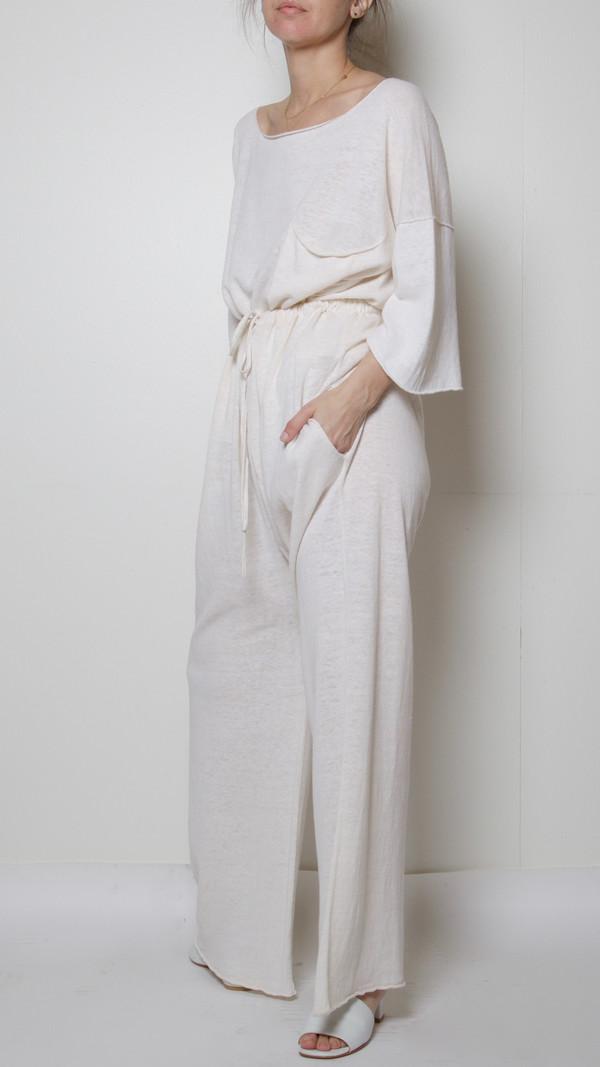 Lauren Manoogian Sack Pants in Perla