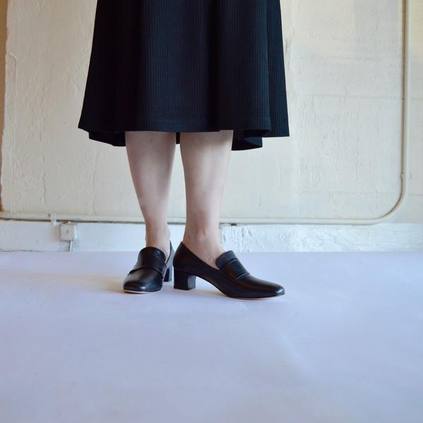 Maryam Nassir Zadeh Melisa Pilgrim Shoe in Night Calf