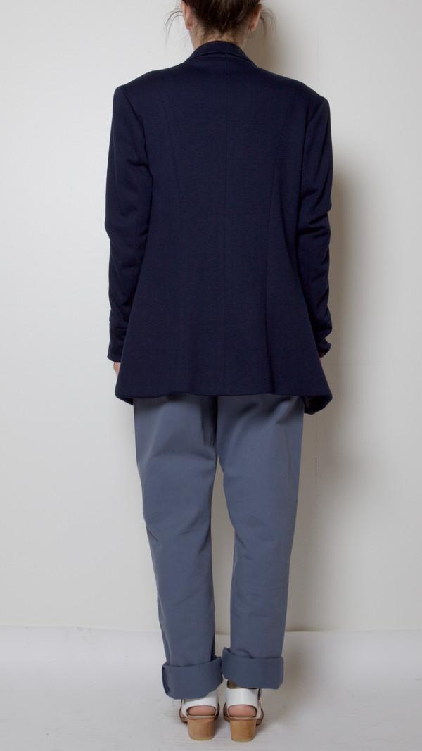Suzanne Rae Tailored Blazer in Navy