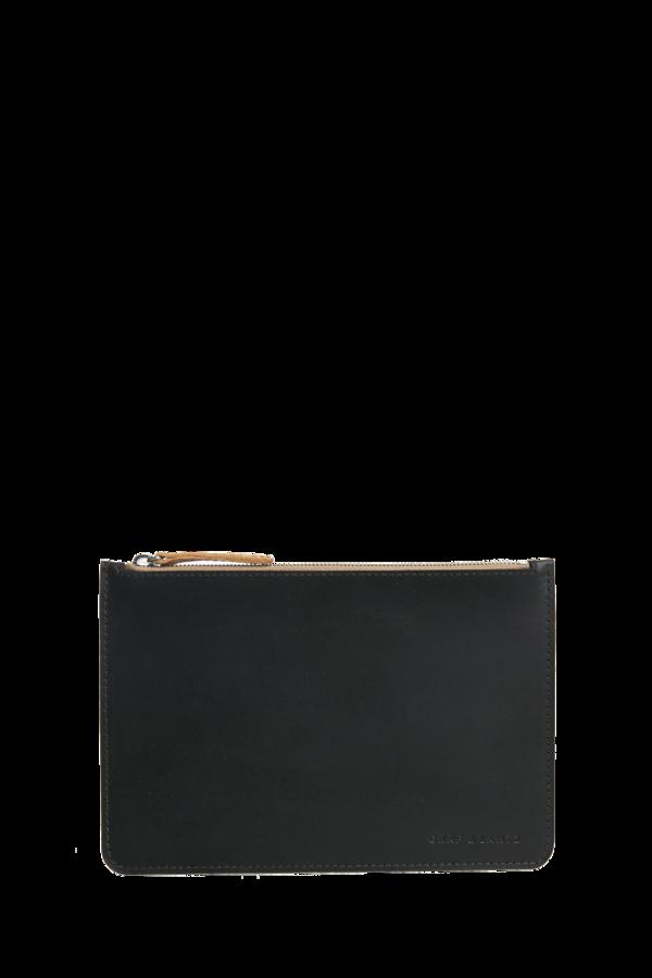 Graf & Lantz Leather Pouch Large Black