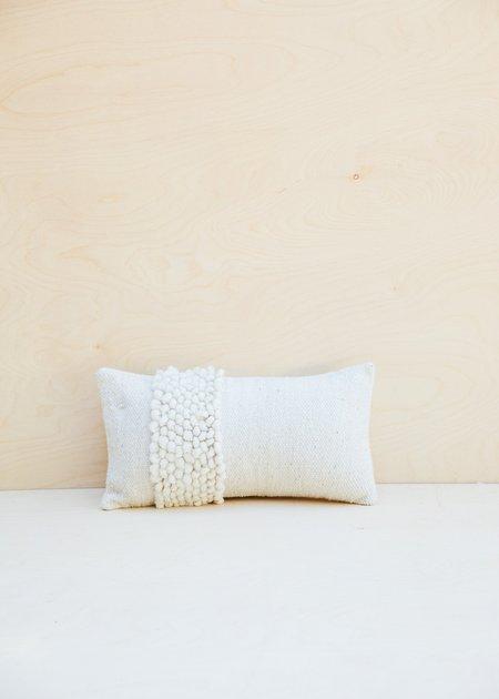 Raya Lumbar Pillow - Cream