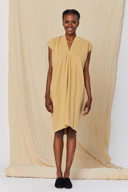 Miranda Bennett Silk Noil Everyday Dress (Petite) - Palomino
