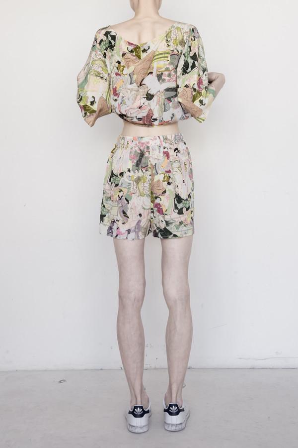 Silk Japanese Lover Short