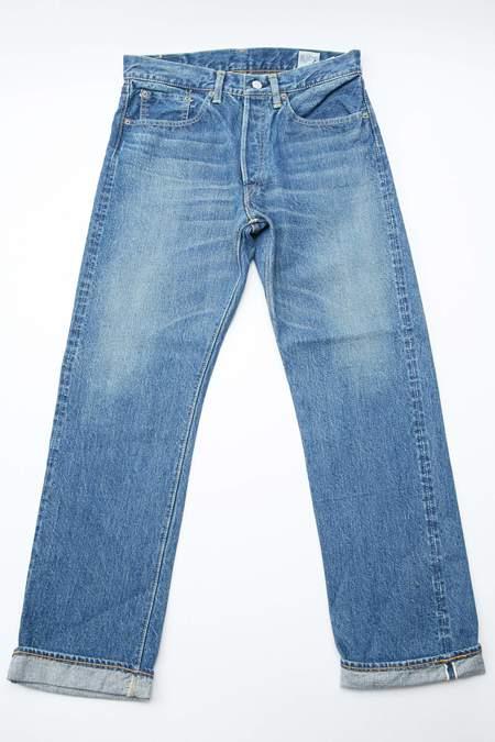 orSlow 105 Standard Fit Jean - 2 Year Wash