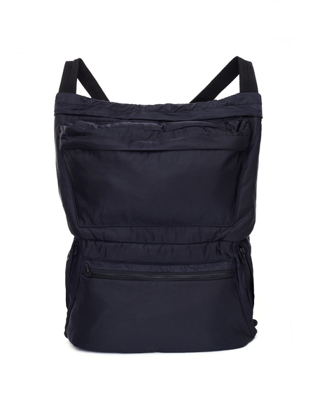 Julius Nylon Backpack - Black