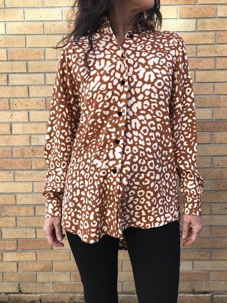La Petite Francaise Caprice Printed Shirt - Leopard