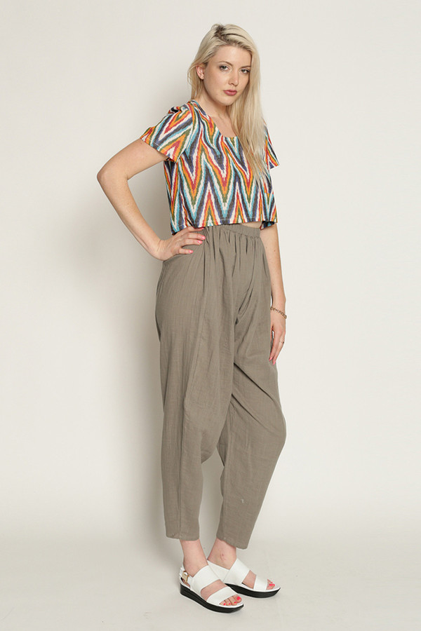 Mary Meyer Woven Cloud Pants in Grey