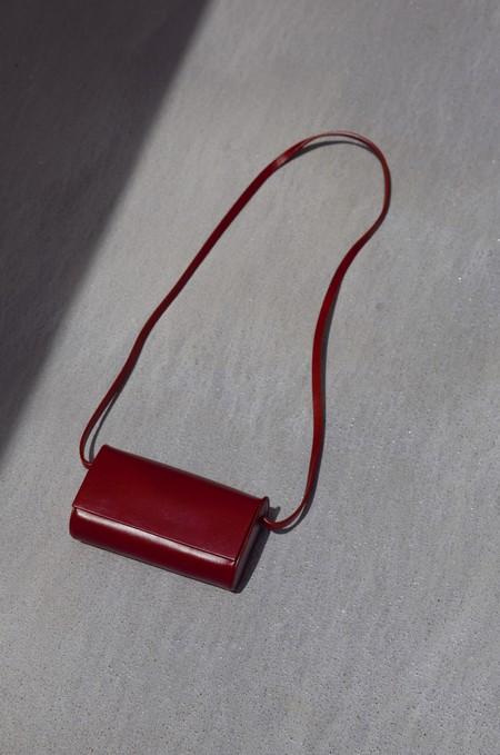 Building Block Petite Bag - Cognac