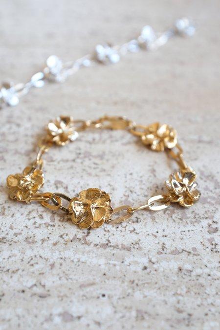 Leigh Miller Poppy Chain Bracelet - Gold