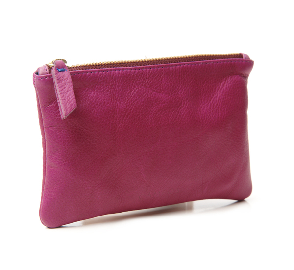 Campos Small Clutch In Mulberry