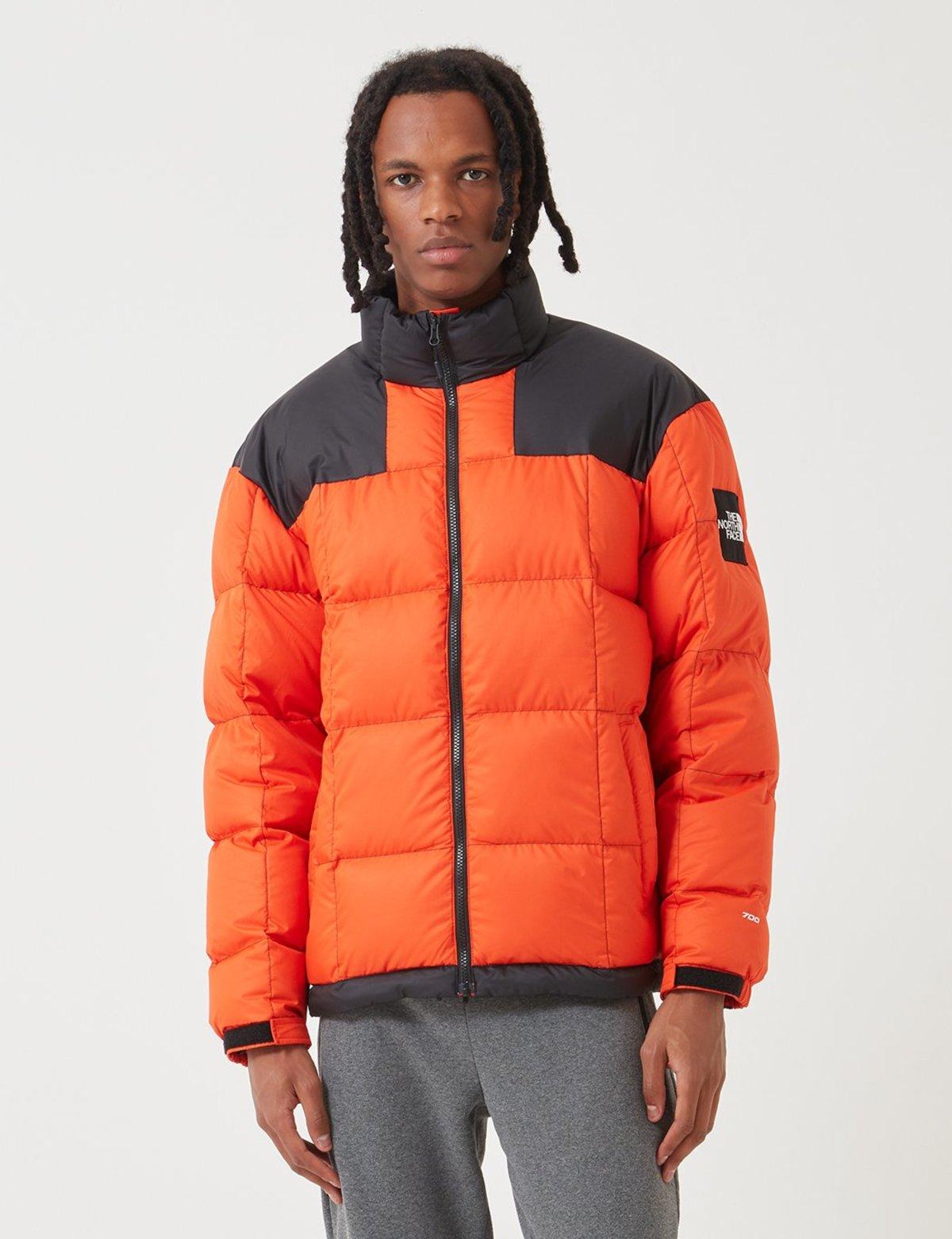 The North Face Black Label Lhotse Down Jacket Tangerine Tango