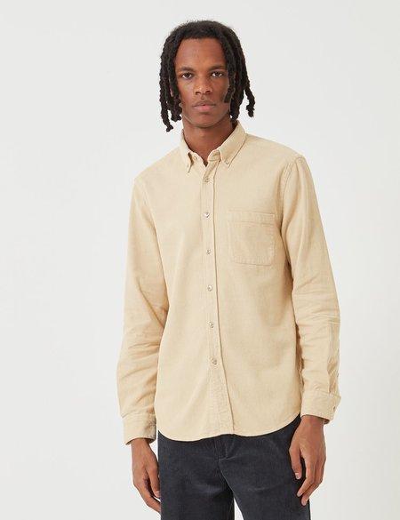 Portuguese Flannel Lobo CORD Shirt - BEIGE