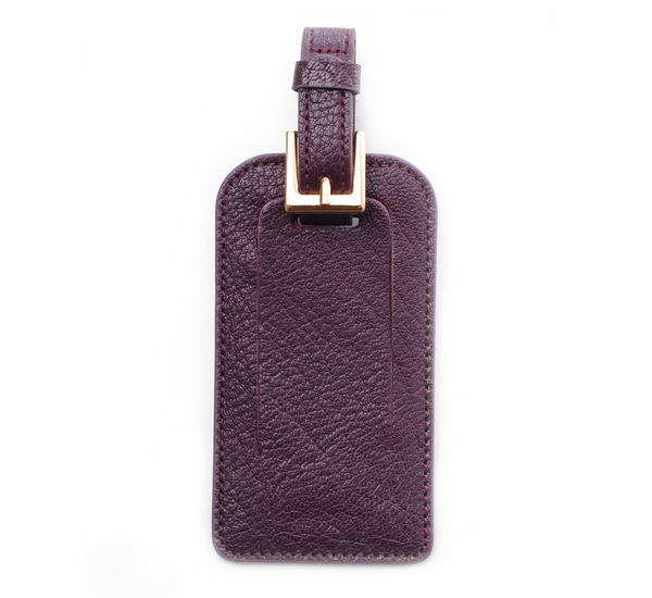 Hayden Leather Femme Mix Leather Luggage Tag