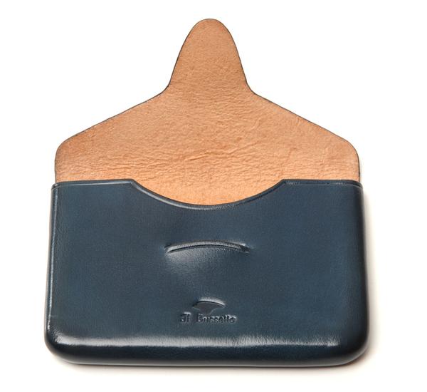 Il Bussetto Poseidon Blue Card Case