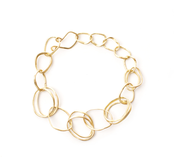 Rosanne Pugliese 18K Double Pebble Bracelet