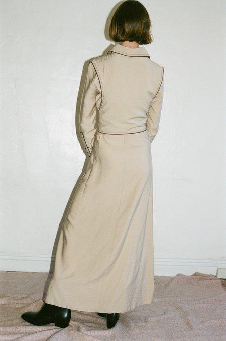 Nanushka Parx Dress - Creme