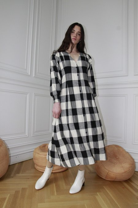 Ajaie Alaie Fluent Love Coat Dress - Chess