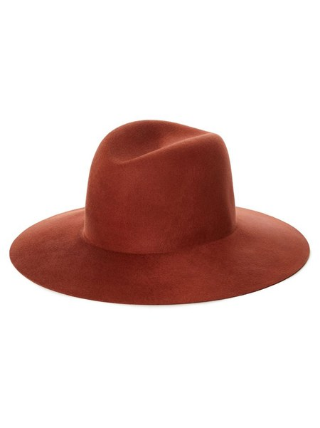 Janessa Leone Caden Hat - Burnt Orange