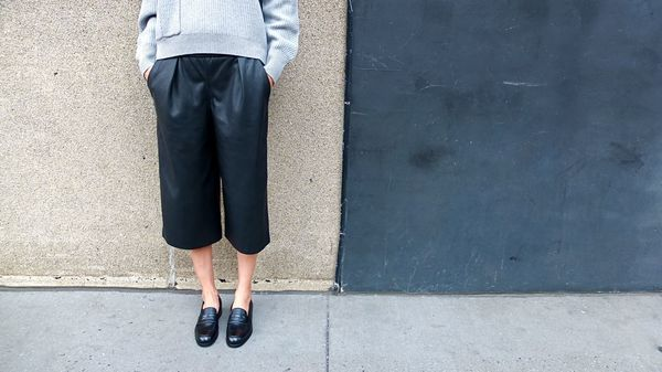 Le Yucca's Black Ball Loafer
