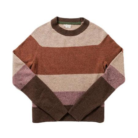 Bridge & Burn Myrtle Sweater - Rust Stripe