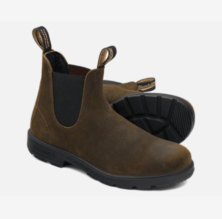 Blundstone 1615 Suede Boot - Dark Olive