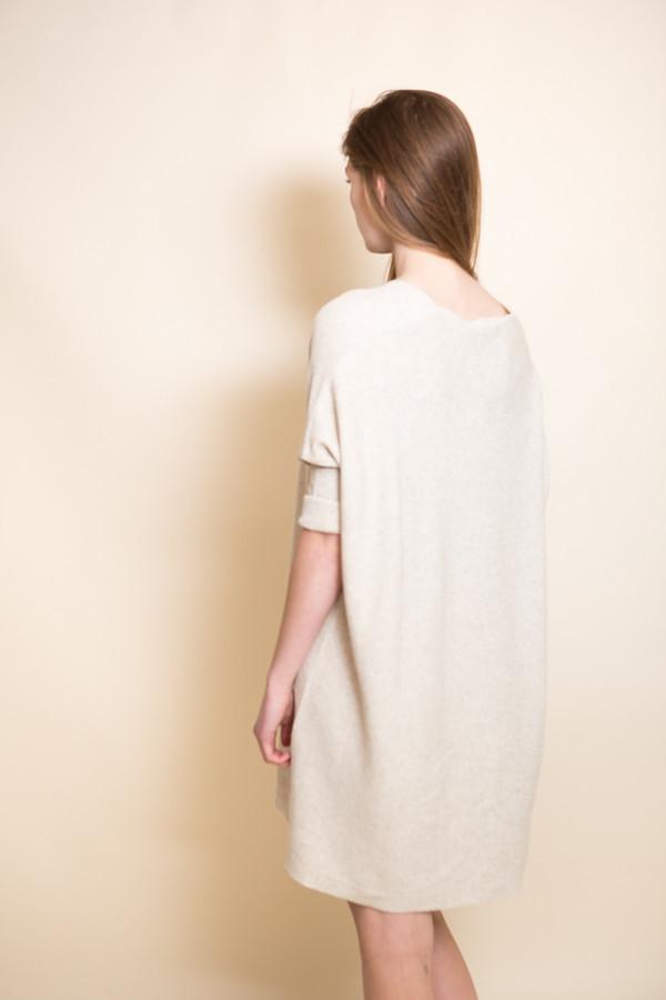 Ali Golden Knit Kimono Tunic / Oatmeal