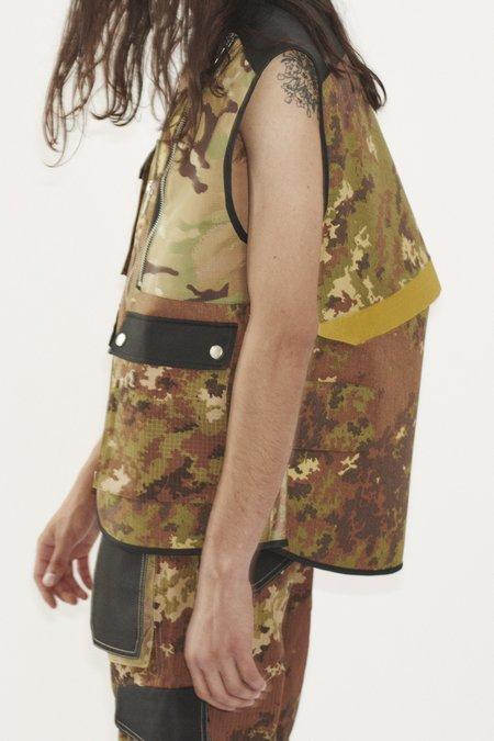 Adyar Mix Trady Shell Vest - Camo