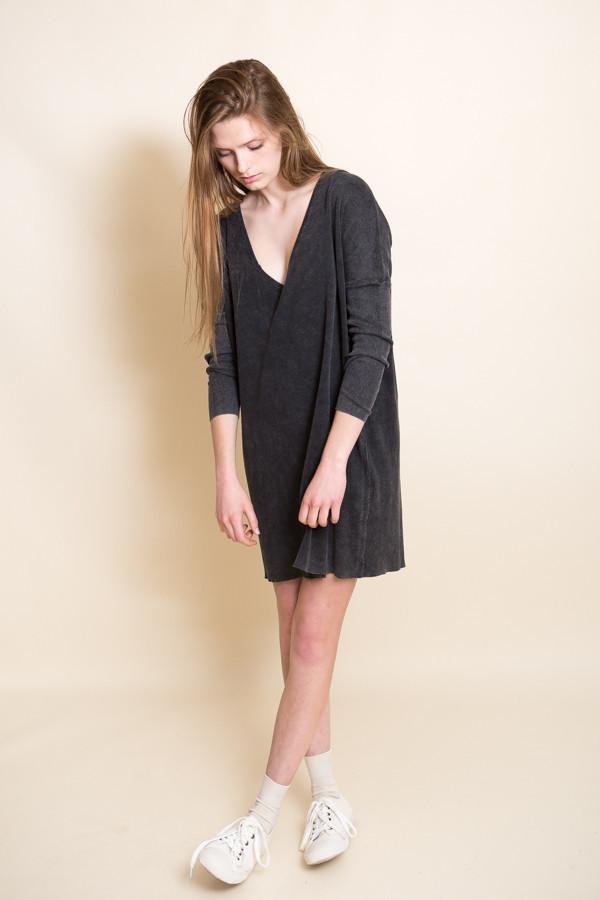 Callahan Enzyme Batwing Mini Dress