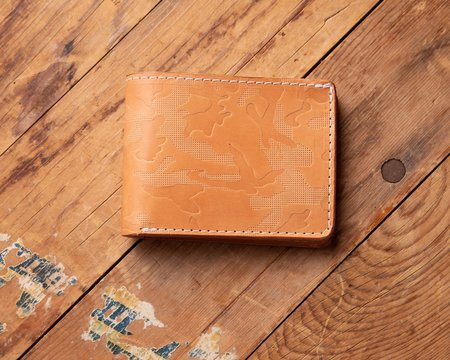 Tanner Goods M/81 Golden Harness Utility Bifold Wallet