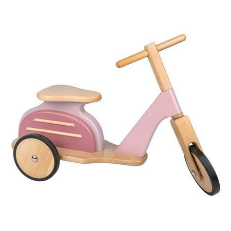Moulin Roty Wooden Scooter - Pink