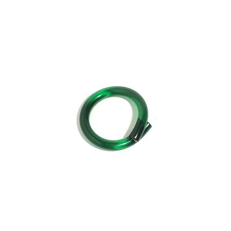 Corey Moranis Medium Rod Bracelet - Green