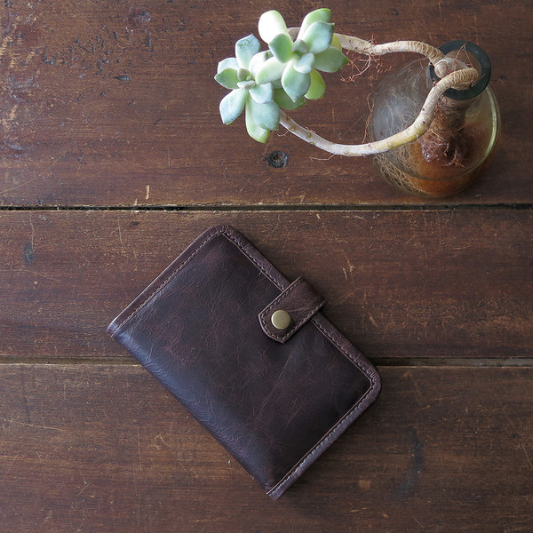 Erica Tanov Leather Wallet