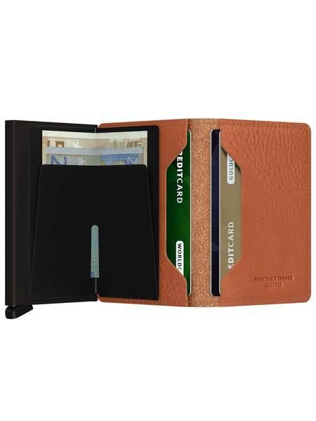 SECRID Slim Wallet - Veg Espresso Brown