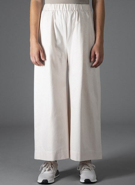 GREI WIDE CROP PANT - SHELL FLASH CLOTH