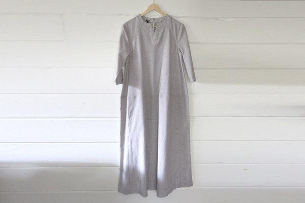 pietsie Tangier Dress in Ticking Stripe