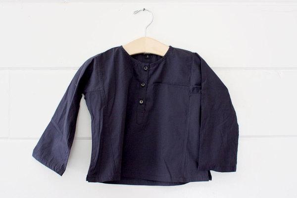 pietsie Basque Shirt in Navy