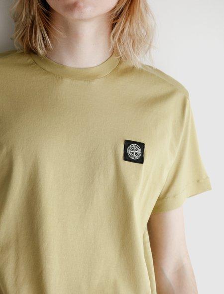 Stone Island T-Shirt - Mustard